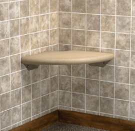 Shower safety seat